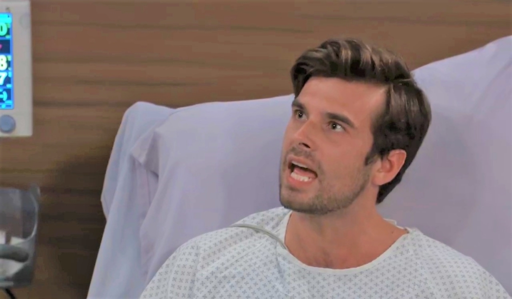 Chase demands Finn release him from General Hospital