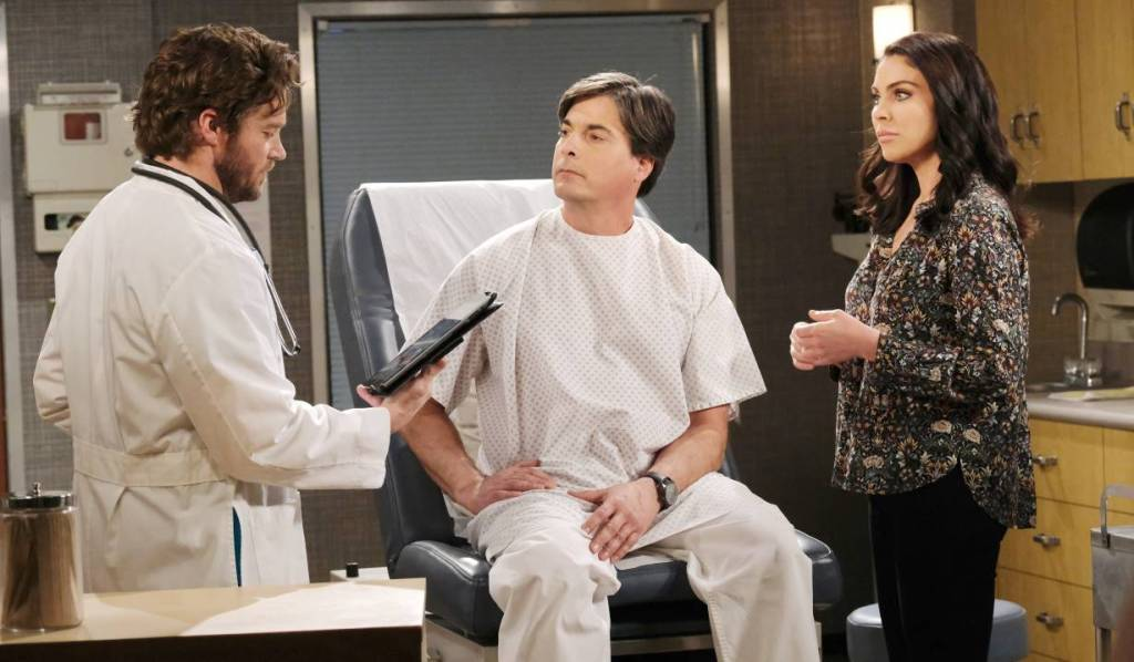 """""""Dunn"""" gives Lucas and Chloe diagnosis hospital Days of our Lives"""