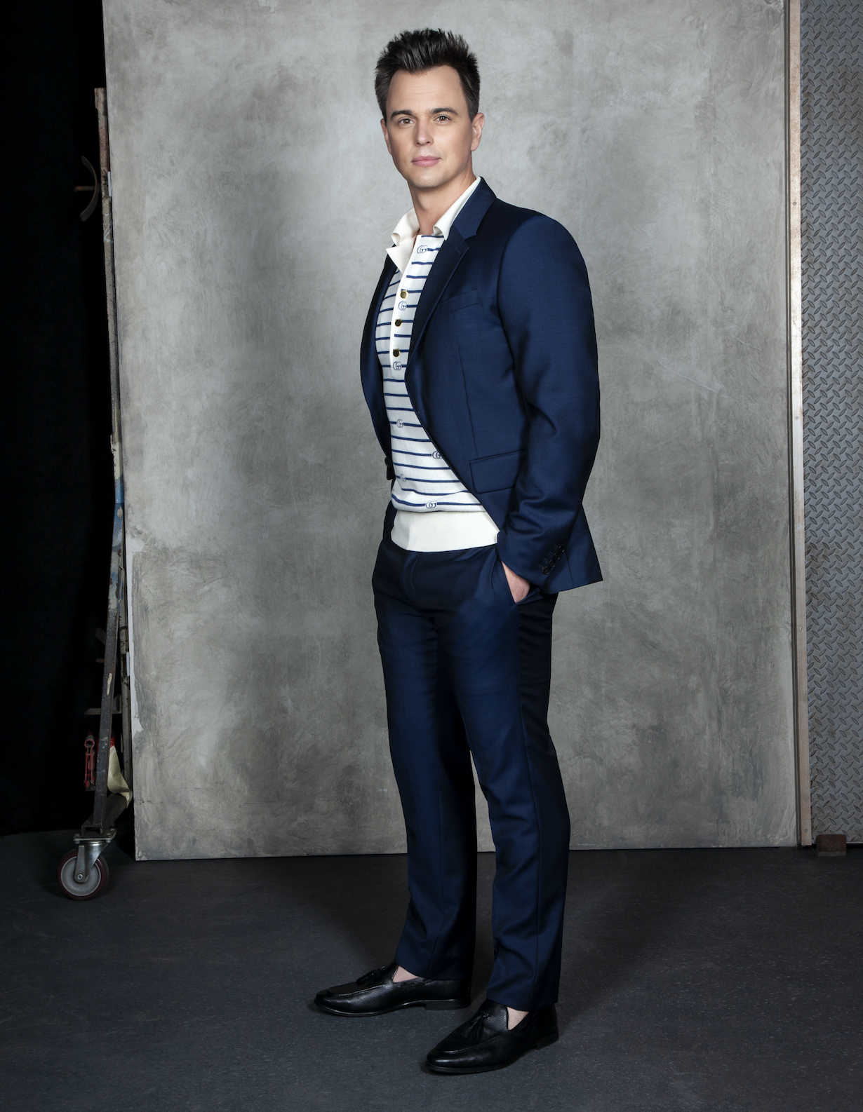 Darin Brooks of the CBS series THE BOLD AND THE BEAUTIFUL, Weekdays (1:30-2:00 PM, ET; 12:30-1:00 PM, PT) on the CBS Television Network. Photo: Gilles Toucas/CBS 2020 CBS Broadcasting, Inc. All Rights Reserved.