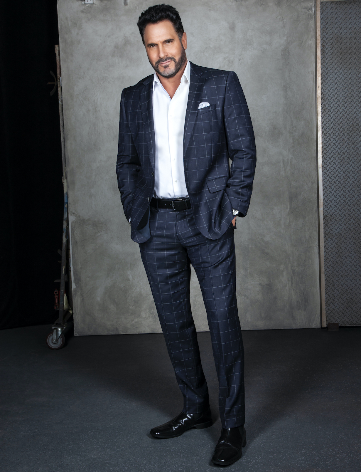 Don Diamont of the CBS series THE BOLD AND THE BEAUTIFUL, Weekdays (1:30-2:00 PM, ET; 12:30-1:00 PM, PT) on the CBS Television Network. Photo: Gilles Toucas/CBS 2020 CBS Broadcasting, Inc. All Rights Reserved.