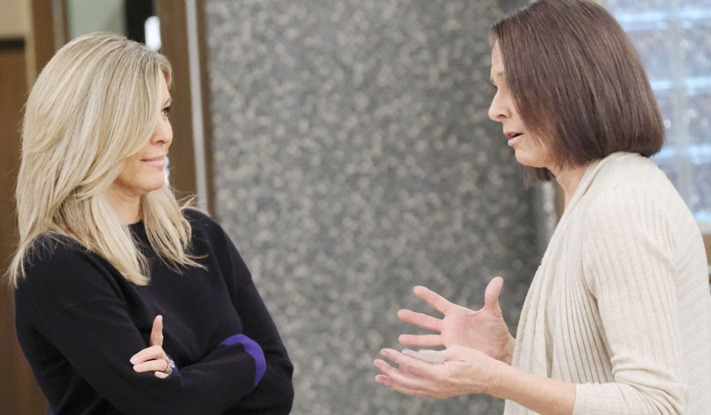 gladys meets with carly gh
