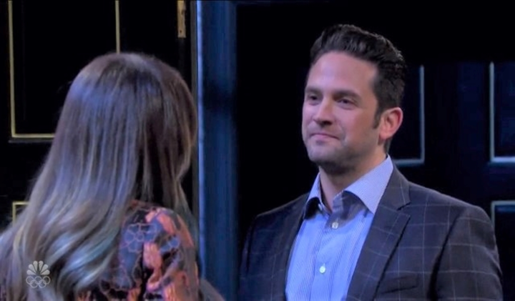"""Jake tries to stop """"Kate"""" at Casa DiMera Days of our Lives"""