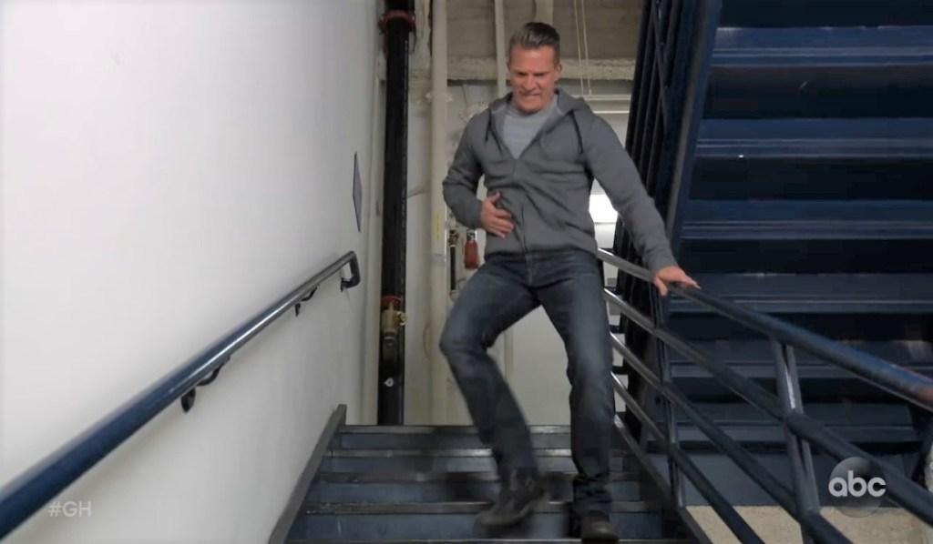 Jason tries to escape General Hospital