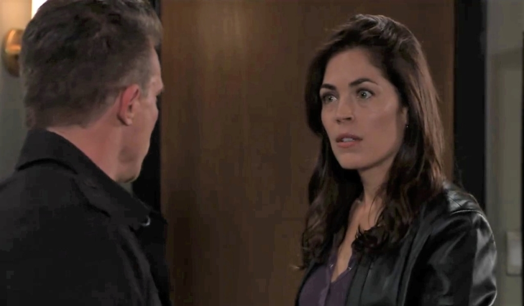 Jason and Britt discuss her condition General Hospital