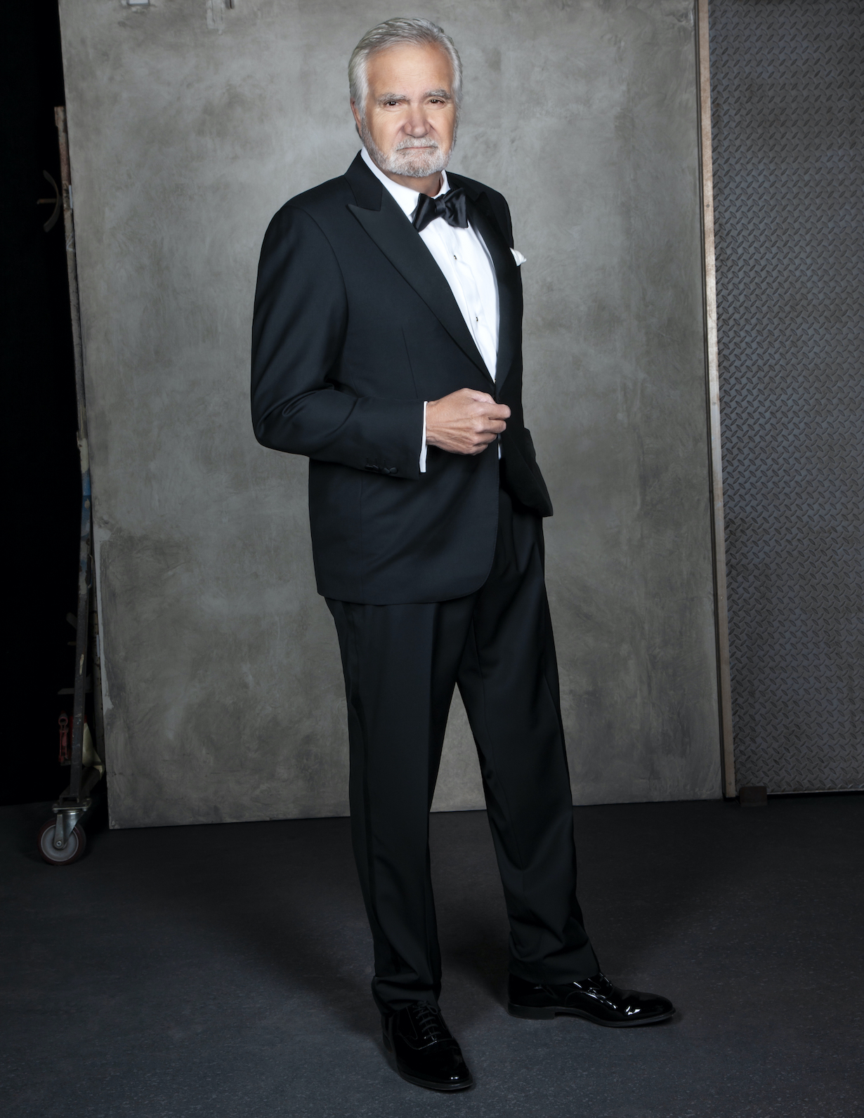 John McCook of the CBS series THE BOLD AND THE BEAUTIFUL, Weekdays (1:30-2:00 PM, ET; 12:30-1:00 PM, PT) on the CBS Television Network. Photo: Gilles Toucas/CBS 2020 CBS Broadcasting, Inc. All Rights Reserved.