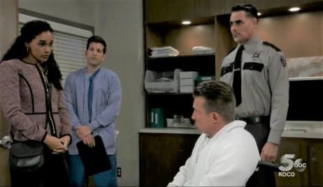 Jordan questions Jason at General Hospital