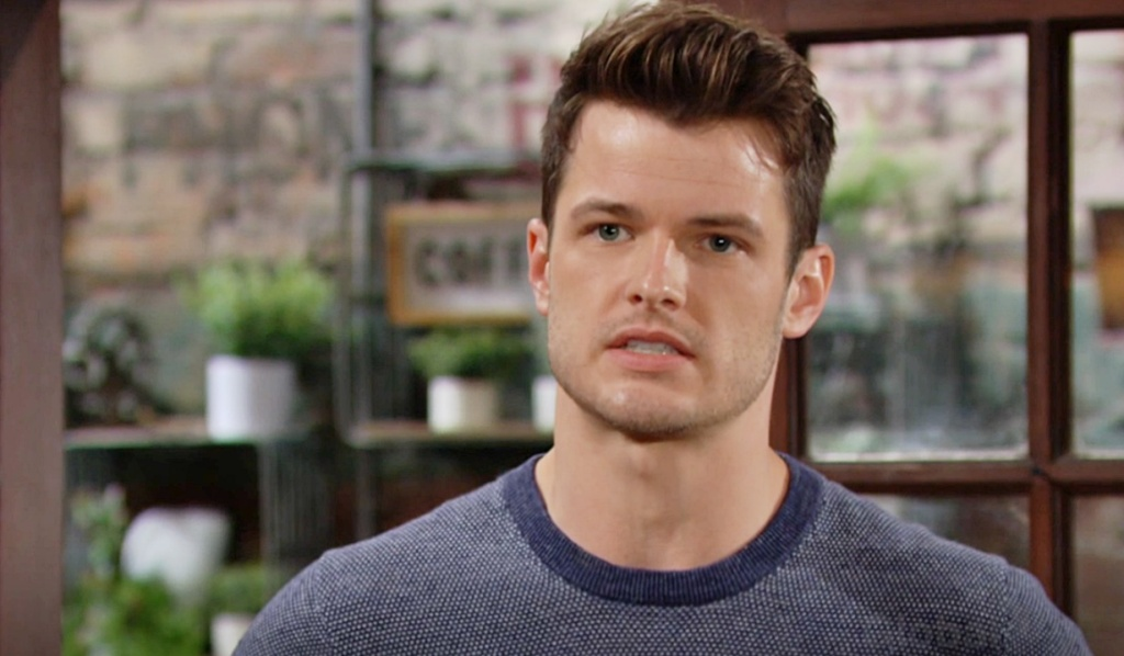 Kyle angry Sally Y&R