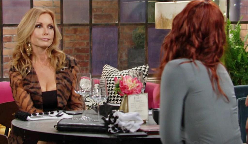 Lauren, Sally talk Marchetti, Summer Y&R