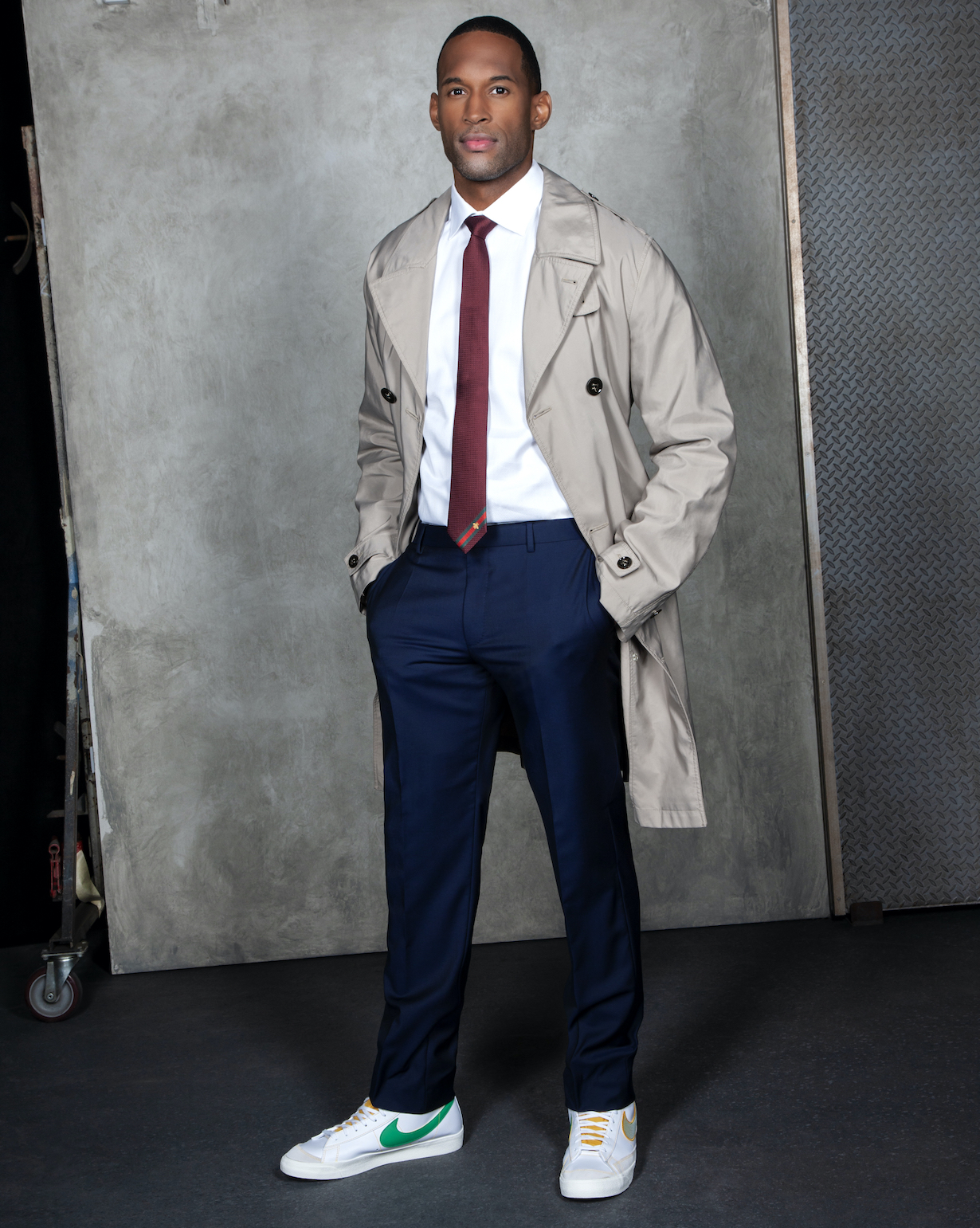 Lawrence Saint Victor of the CBS series THE BOLD AND THE BEAUTIFUL, Weekdays (1:30-2:00 PM, ET; 12:30-1:00 PM, PT) on the CBS Television Network. Photo: Gilles Toucas/CBS 2020 CBS Broadcasting, Inc. All Rights Reserved.