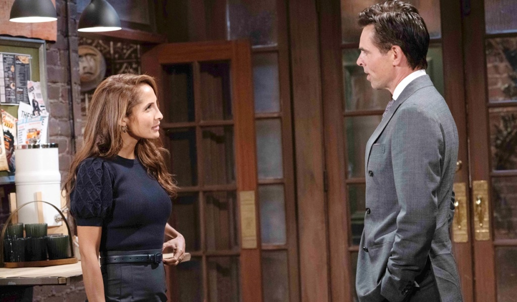 Lily taken aback Billy Y&R