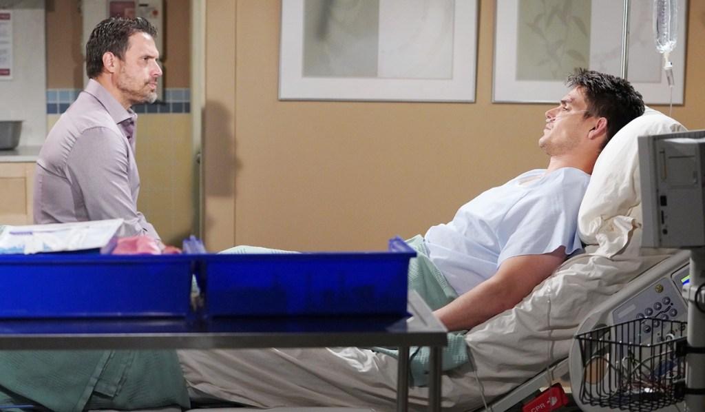 Nick visit Adam hospital Y&R