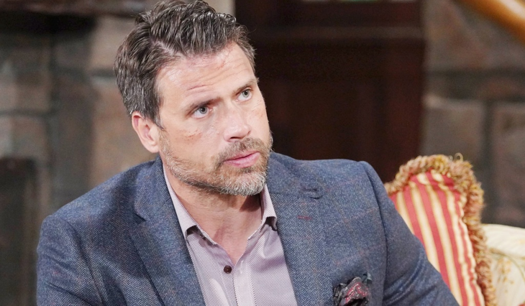 Nick at Sharon's house Y&R