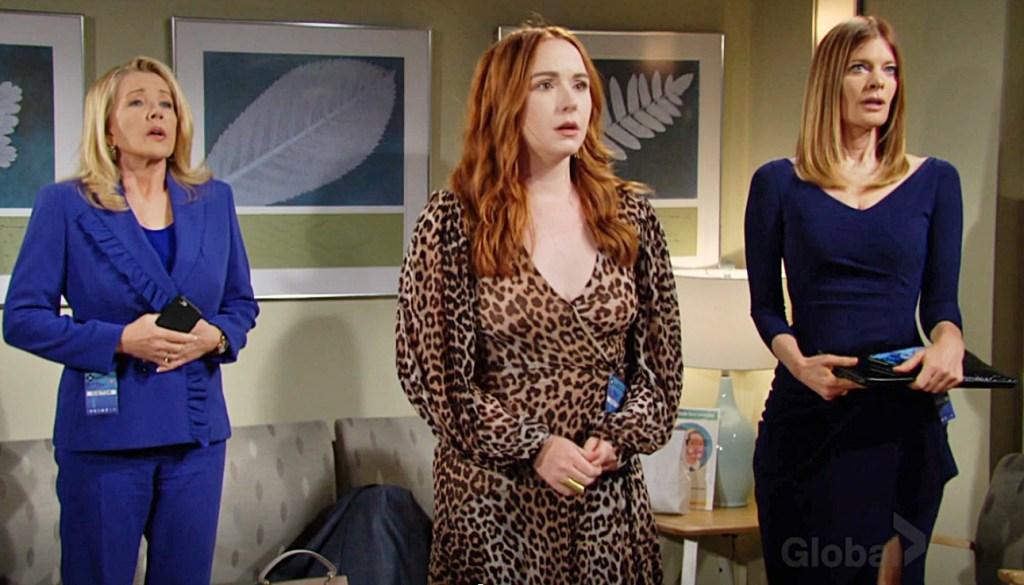 Nikki, Mariah, Phyllis good news Y&R