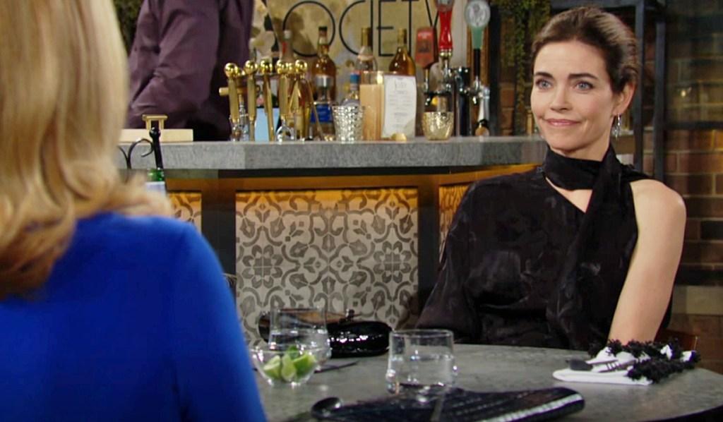 Nikki, Victoria lunch Y&R