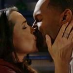 Quinn, Carter passionate kiss loft B&B
