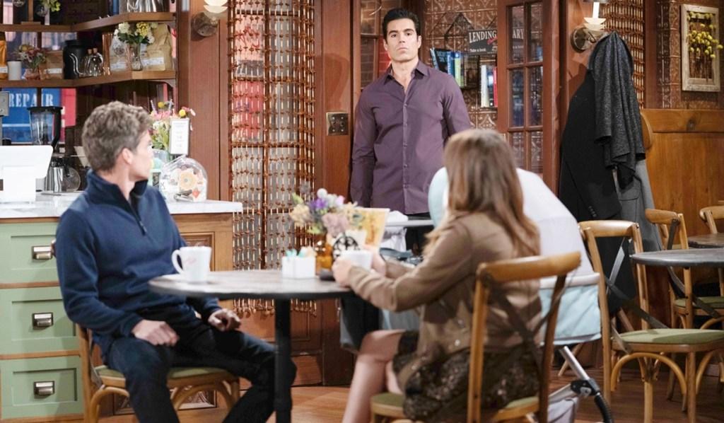 Kevin, Rey, Chloe Y&R