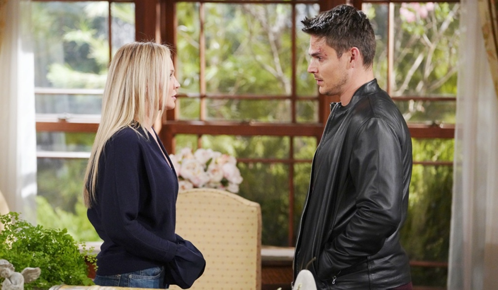 Sharon, Adam surprise visit Y&R