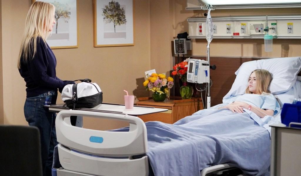 Sharon, Faith prepare hospital Y&R