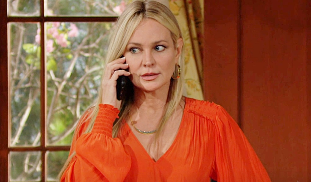 Sharon call from Rey Y&R