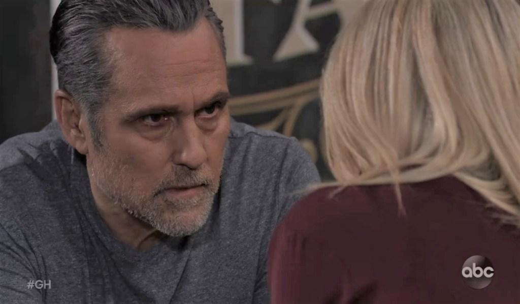 Sonny warns Nina about Elijah at Tan-O General Hospital