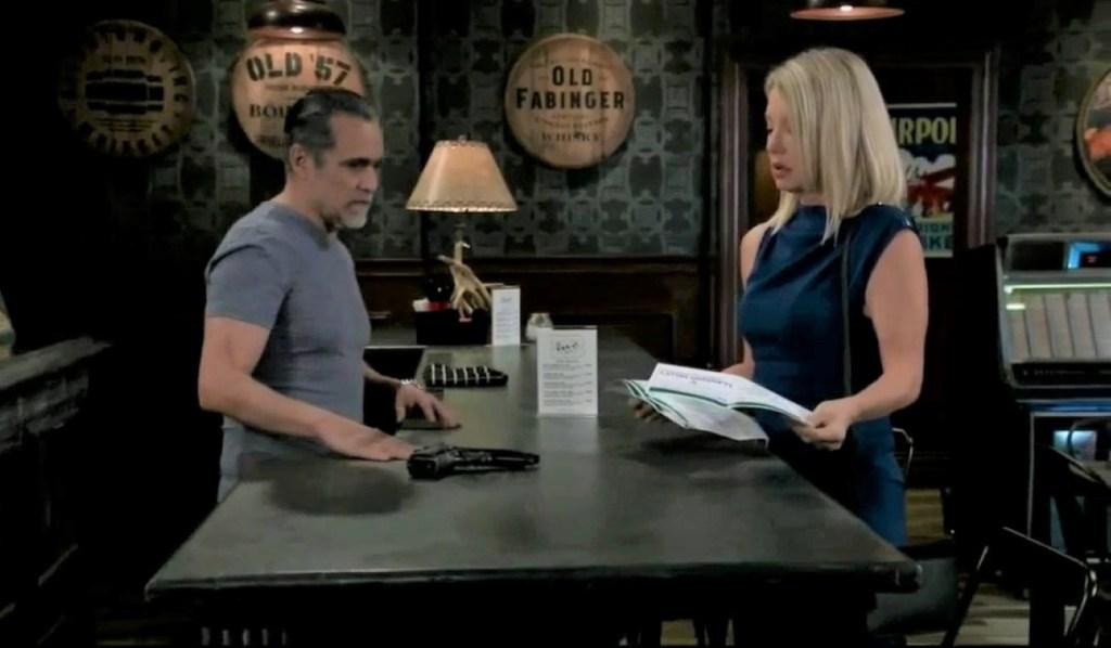 Sonny worries about Nina at Tan-O General Hospital