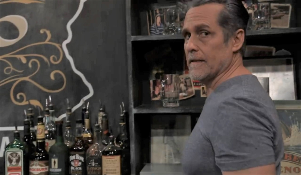 """Stella confronts """"Mike"""" at Tan-O General Hospital"""