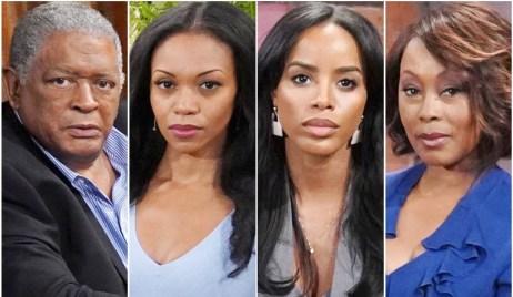 Sutton, Amanda, Imani, Naya Y&R
