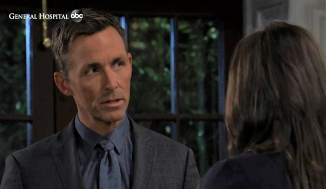Valentin and Brook Lynn talk moving in at Quartermaine estate General Hospital
