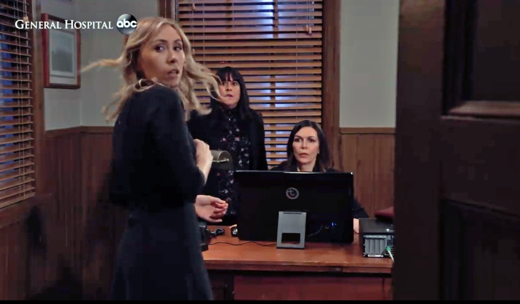 Anna and Robin are caught GH