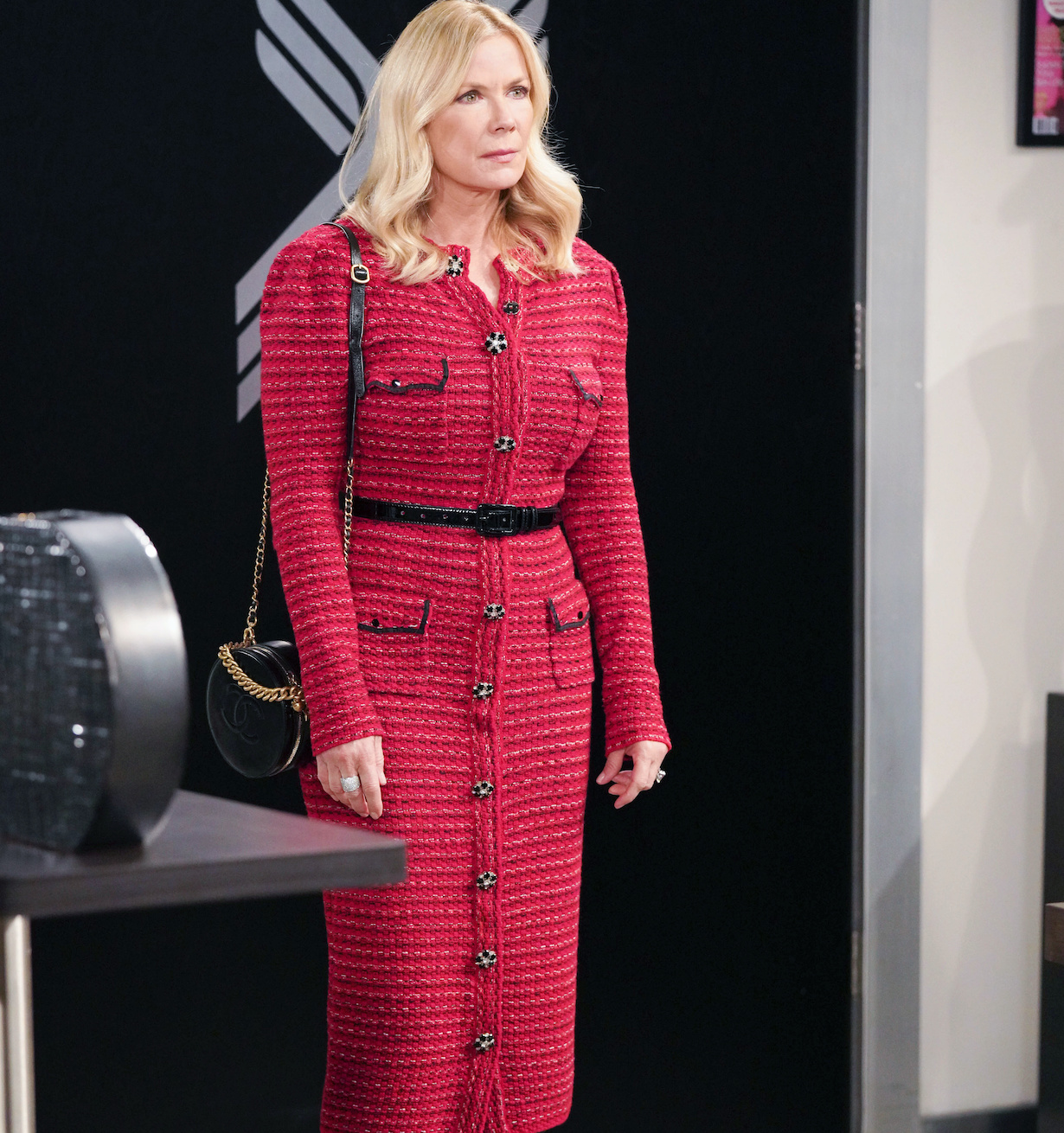 """Katherine Kelly Lang """"The Bold and the Beautiful"""" Set CBS Television City Los Angeles, Ca. 02/05/21 © Howard Wise/jpistudios.com 310-657-9661 Episode # 8486 U.S.Airdate 04/01/21"""