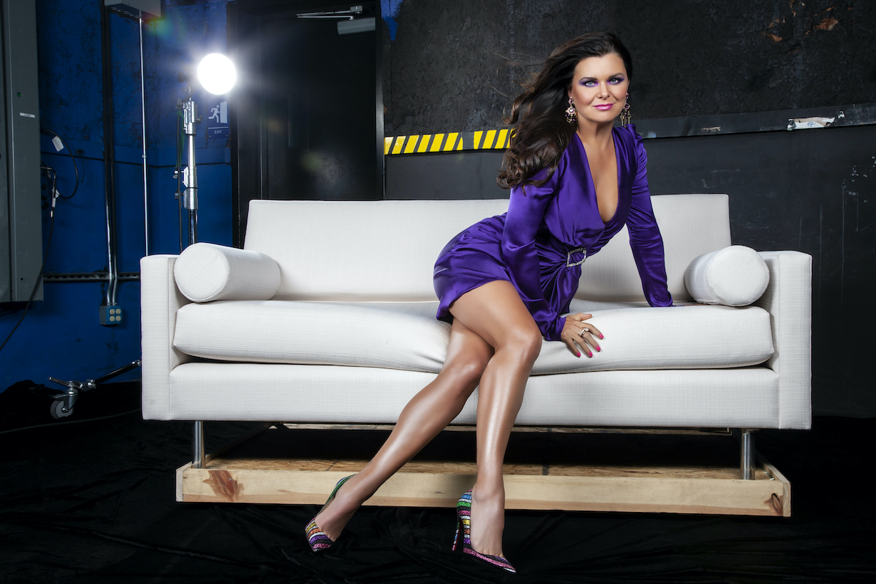 Heather Tom of the CBS series THE BOLD AND THE BEAUTIFUL, Weekdays (1:30-2:00 PM, ET; 12:30-1:00 PM, PT) on the CBS Television Network. Photo: Gilles Toucas/CBS 2020 CBS Broadcasting, Inc. All Rights Reserved.