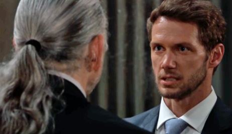 Brando asks how to save his mom GH