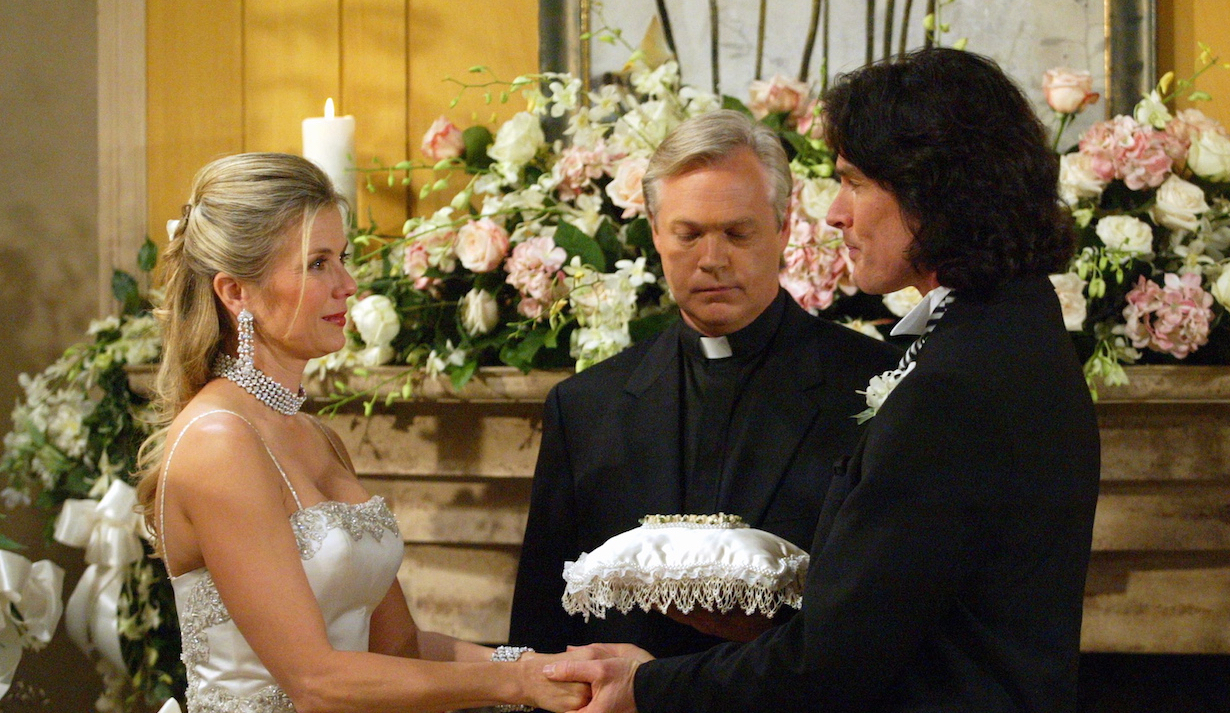 Brooke and Ridge wedding on Bold and Beautiful