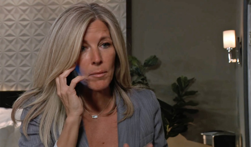 Carly makes a call for help GH