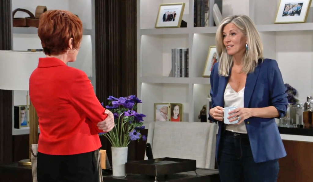 Carly meets with Diane GH