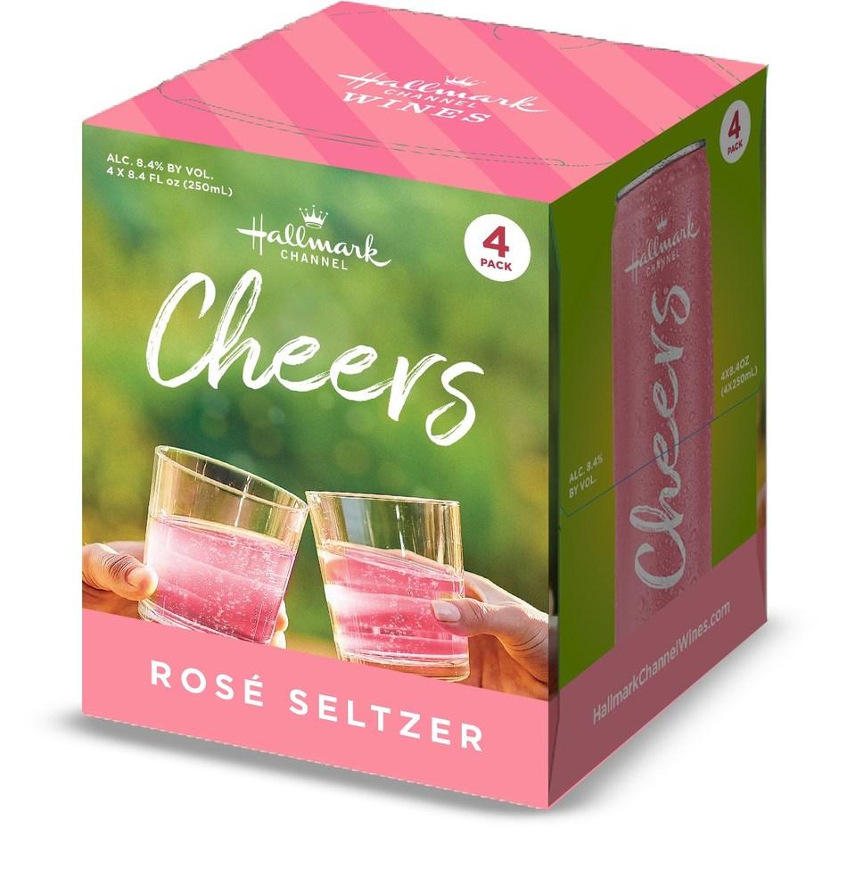 Hallmark Channel Cheers Rosé Seltzer