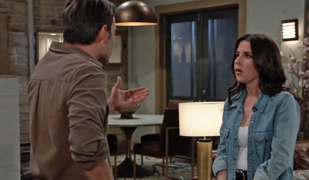 Dante questions Sam about Jason GH