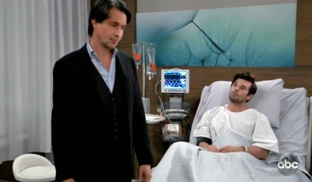 Finn almost confesses to Chase GH