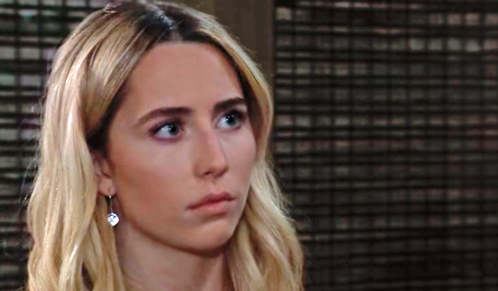 Joss learns more information GH