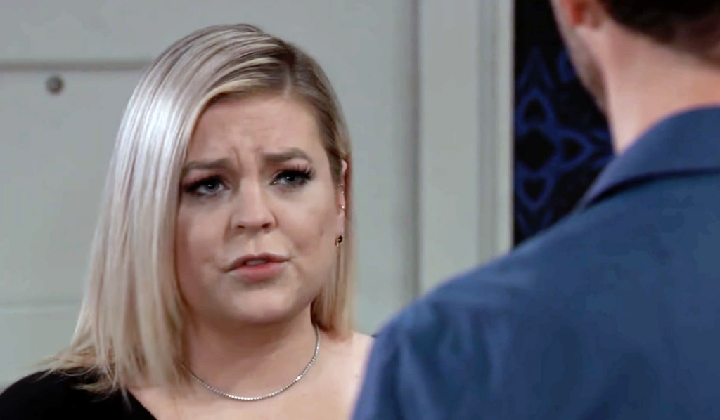 Maxie plays coy with Peter GH