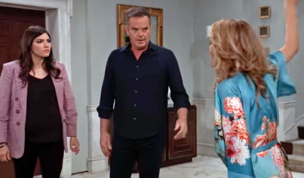 Olivia fumes over Valentin in house GH