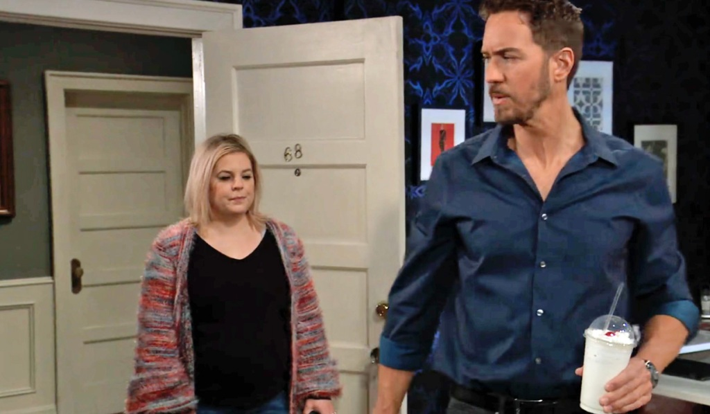 Peter is suspicious of Maxie GH