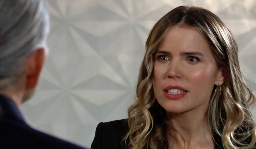 Sasha tells Cyrus off GH