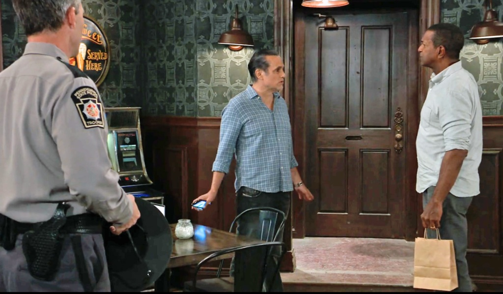 Sonny Accuses Elijah of Nina missing GH