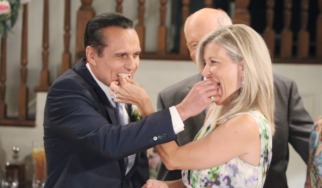 Carly and Sonny married General Hospital