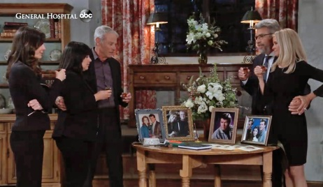 Toasting to Sean on GH