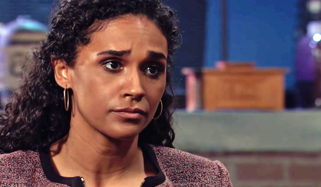 Trina questions Jordan about her father GH
