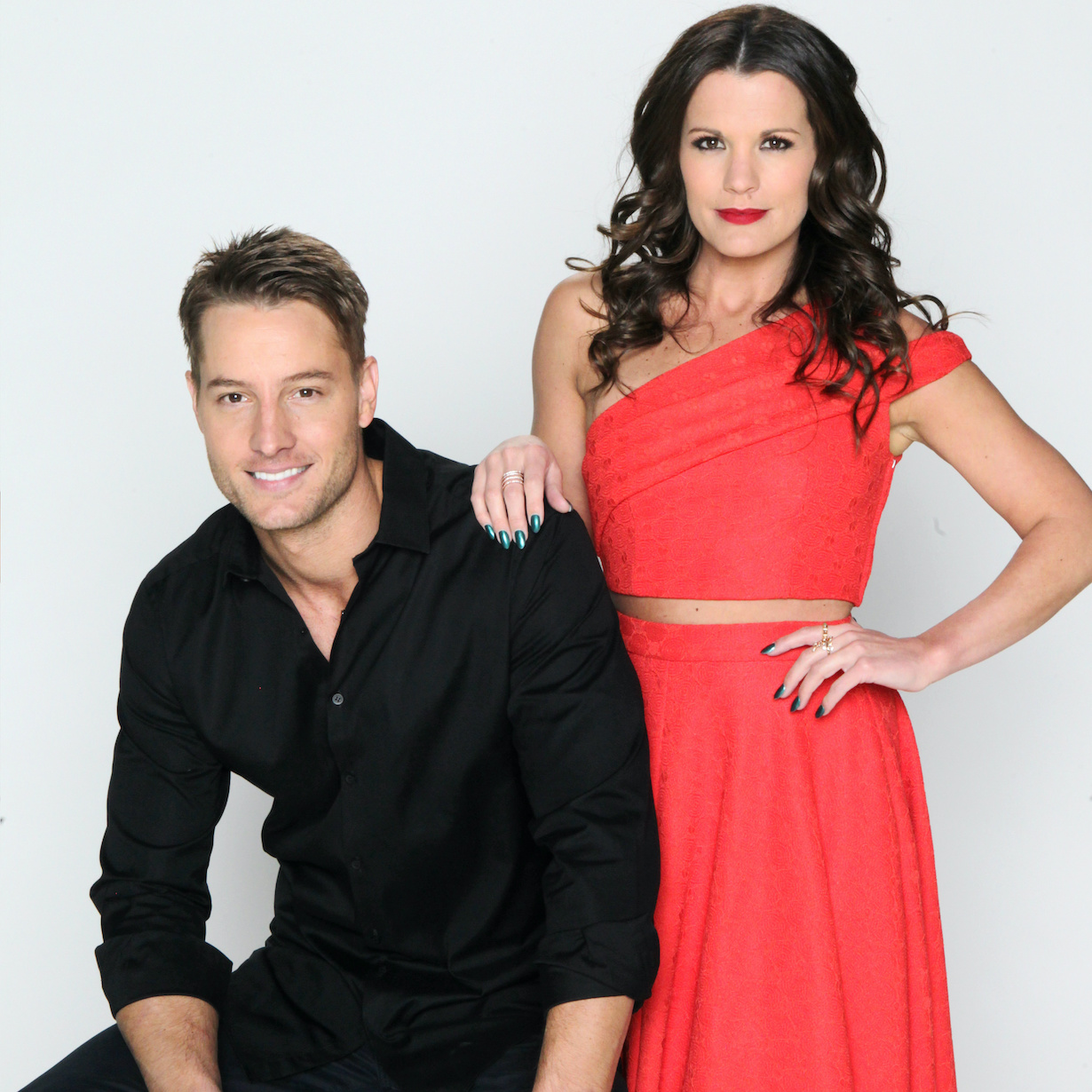 """Justin Hartley, Melissa Claire Egan """"The Young and the Restless"""" adam chelsea jp"""