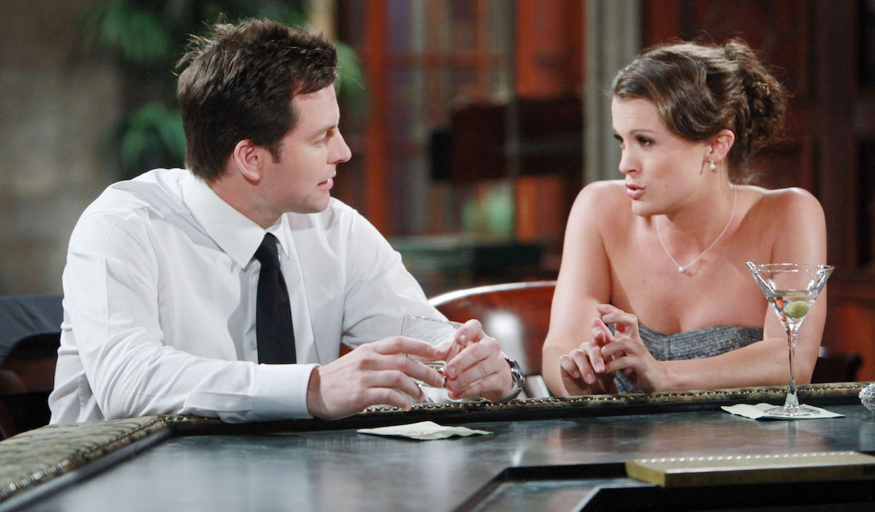 """Melissa Claire Egan, Michael Muhney """"The Young and the Restless"""" Set CBS television City Los Angeles 05/16/12 ©Howard Wise/jpistudios.com 310-657-9661 Episode # 9934 U.S. Airdate 06/25/12"""