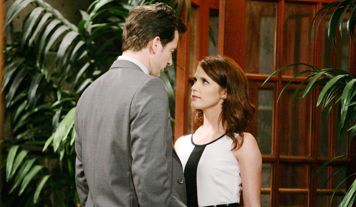 """Michael Muhney, Erin Chambers """"The Young and the Restless"""" adam melanie hw"""